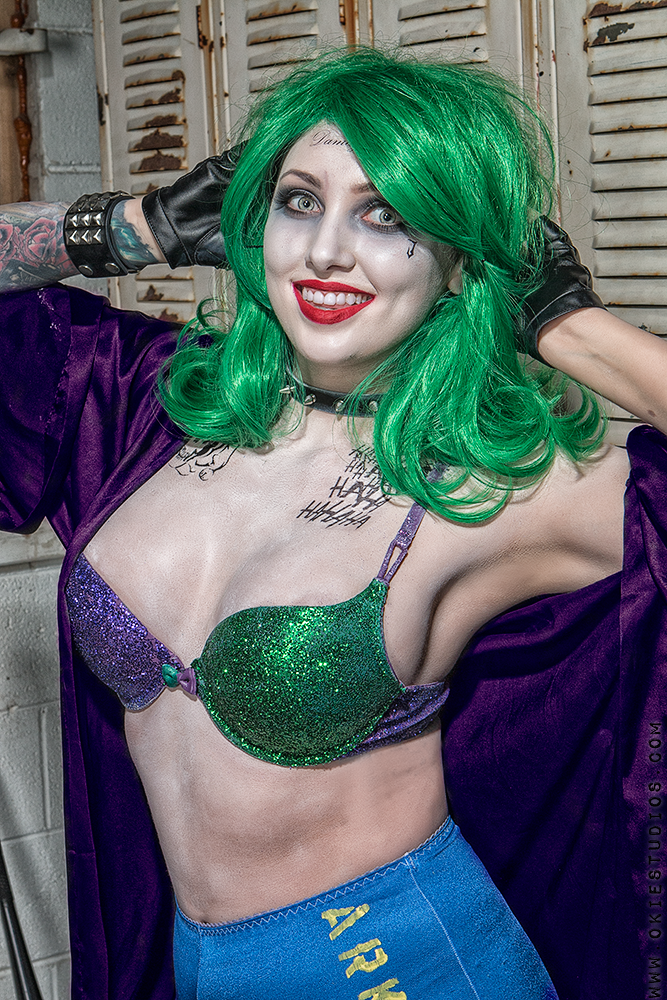 The Joker with Britney Parks